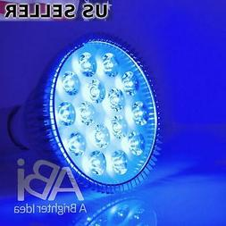 ABI 12W Blue LED PAR38 Grow Light for Aquarium and Plant Gro