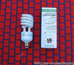 2 new Natural Compact Fluorescent BIRD & GROW LIGHT BULB Ful