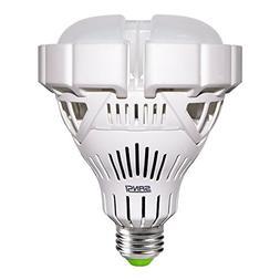 30W  BR30 LED Light Bulbs, 2800 Lumens, 3000K Warm White, CR