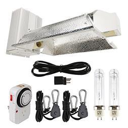 Hydro Crunch 630-Watt Ceramic Metal Halide CMH Dual Lamp Enc