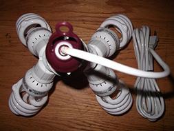 400 WATT CFL GROW LIGHT KIT- CORD INCLUDED- FOR BLOOM