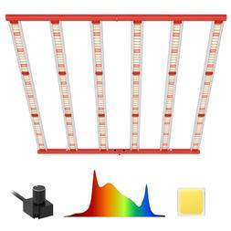 AGLEX 600W COB LED Grow Light, Full Spectrum UV IR Reflector