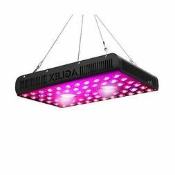 AGLEX 1200W COB LED Grow Light, Full Spectrum UV IR Reflecto