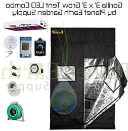 Gorilla Grow Tent  LED Combo Package #1