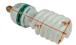 85W Compact Fluorescent Grow Light Bulb Full Spectrum Hydrop
