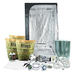 HTGSupply 3 x 3  Grow Tent Kit Complete With 400-Watt HPS +