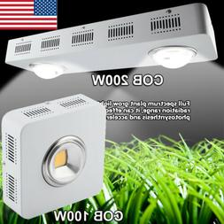 CREE COB 100W 200W LED Grow Light Full Spectrum Indoor Plant