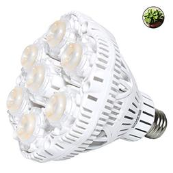 SANSI 40W Daylight LED Plant Light Bulb Full Spectrum Cerami
