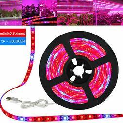 DC5V LED Grow Light Full Spectrum Strip Light 5050 Waterproo