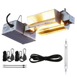 DE 1000W Grow Light Fixture Kit 120/240V for Hydroponic Plan