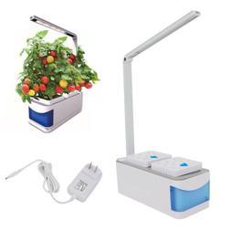 Desktop Indoor 8.5W LED Plants Herb Grow Light Lamp Full Spe
