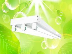 DUROLUX DL343 T8 4FT FLUORESCENT 3-LAMP LINEAR GROW LIGHT 10