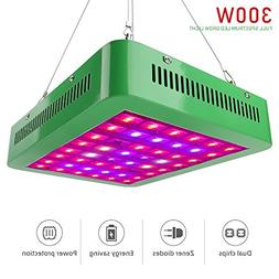 Derlights 800W Double Chips LED Plant Grow Lights with Dual