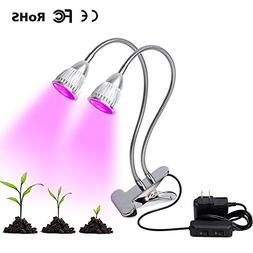 Double-Ended UV and IR Plant Grow Lights with Double Switch