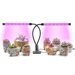 AMAZINGCATS  20W Dual Head Automatic Cycle-Timing Grow Light