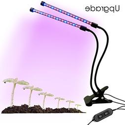 IdentikitGift Dual Head LED Plant Grow Light 18 W 2 Dimmable