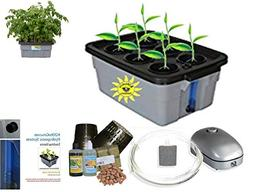 Hydroponic system Complete DWC BUBBLER Kit, 3-6 by H2OtoGro