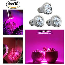 E27 18-LEDs Light Kit of 3 Packs, Enjoydeal LED Grow Lights
