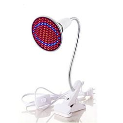 Fashionwu E27 20W 200 LED 2835SDM Plant Grow Light with Clip