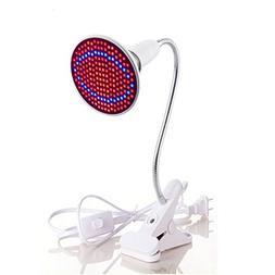 Fashionwu E27 20W 200 LED 2835SDM Plant Grow Light with Clip