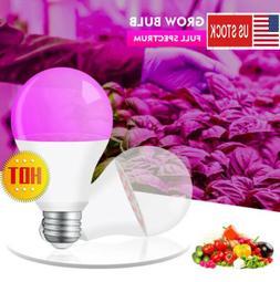 E27 LED Grow Light Bulb Full Spectrum Garden lamp for indoor