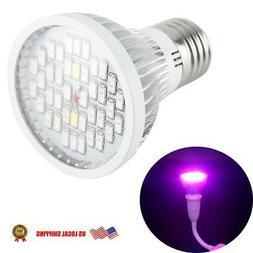 E27 LED Plant Grow Light Bulb Full Spectrum for flower Growi