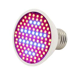E27 Gardening 10W LED Plant Grow Light 106 LED Beads Full Sp