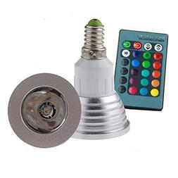 YiDing E27 Standard Screw Base Various Colors Changing Dimma
