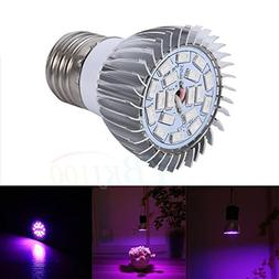 MagiDeal E27 8W Full Spectrum LED Growing Light Bulb Lamp Fo
