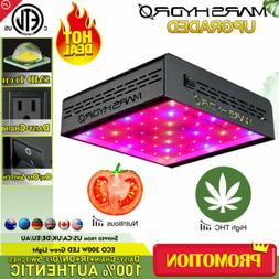 Mars Hydro ECO 300W LED Grow Light Hydroponics Veg Bloom Ind