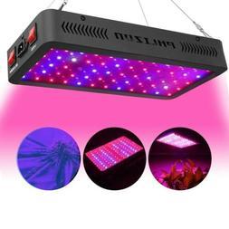 Phlizon ECO 600W LED Grow Light Full Spectrum Lamp for Indoo