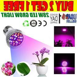 ECO LED Plant Grow Light Bulbs Full Spectrum Growing Lamp Pl