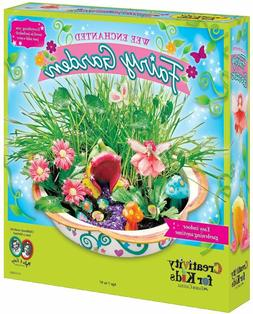 Creativity for Kids Enchanted Fairy Garden Craft Kit - Fairy
