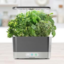 Exclusive AeroGarden Harvest, Grey with Gourmet Herbs Seed,