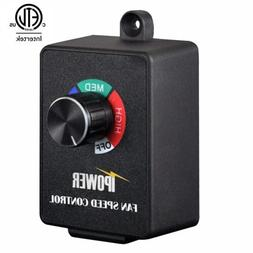 iPower Fan Speed Controller for Duct and Inline Fan 350W