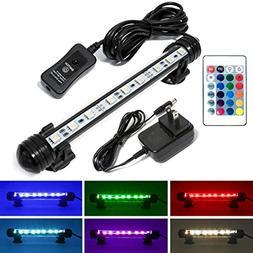 Mingdak LED Fish Tank Light - Multi Color Changing Dimmable
