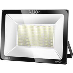 SOLLA 400W LED Flood Light, IP66 Waterproof, 32000lm, 2140W