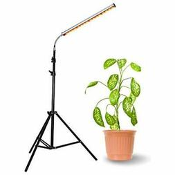 Floor Lamp Grow Light, 28W LED Stand Growing With Flexible G