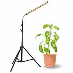 Floor Lamp Grow Light, 28W LED Stand Growing Flexible Goosen