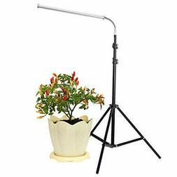 Floor Lamp LED Grow Light, 30W Floor Stand Growing Light wit