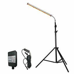 Floor Lamp LED Grow Light, Auto Turn On Timing Plant Light w