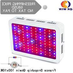 France Warehouse drop shipping Qkwin 1000W LED <font><b>Grow