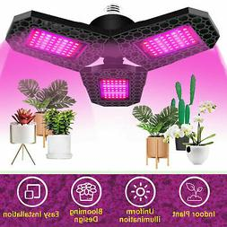 Full Spectrum 144LED Grow Light Plant Growing Lamp for Indoo