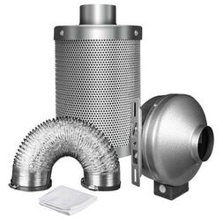 iPower GLFANXINL6FILT6MD25C 6 inch Inline Fan Carbon Air Fil