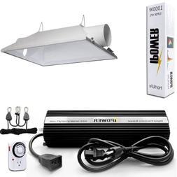 iPower GLSETX1000DHAC6 1000-Watt Light Digital Dimmable HPS
