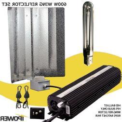 iPower GLSETX600DHWING 600-Watt Light Digital Dimmable HPS G