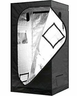 iPower GLTENTS1 Mylar Hydroponic Grow Tent for Indoor Seedli