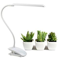 Grow Lamp for Plants Angzhia 6W Adjustable Clip Desk Water P