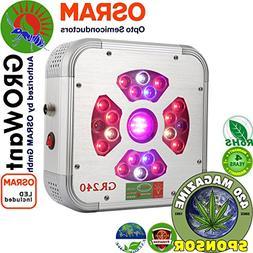 LED Grow Lamps Full Spectrum with UV & IR, 240 Watts OSRAM H