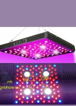 AGLEX 2000 Watt LED Grow Light, Full Spectrum UV IR Reflecto